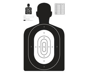Terč FBI – redukce na 18,5 m
