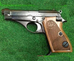 Beretta 71 wooden grip
