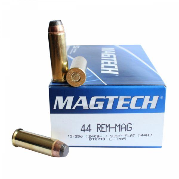 Magtech 44 REM MAG SJSP FLAT 15,55g 240gr