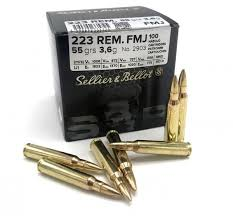 223 REM 55grs 100ks S&B