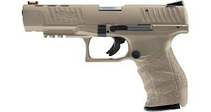 WALTHER PPQM2 22LR 5″ FDE