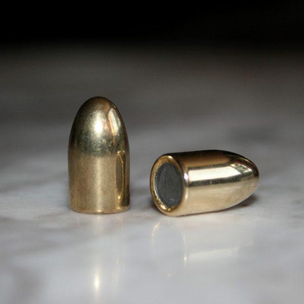 střela 9mm 124 grs