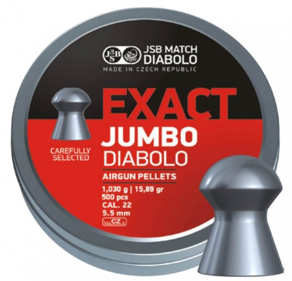 JSB EXACT JUMBO 5,50MM 500KS