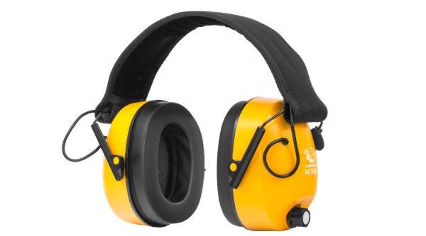 Sluchátka RealHunter aktivní oranžová