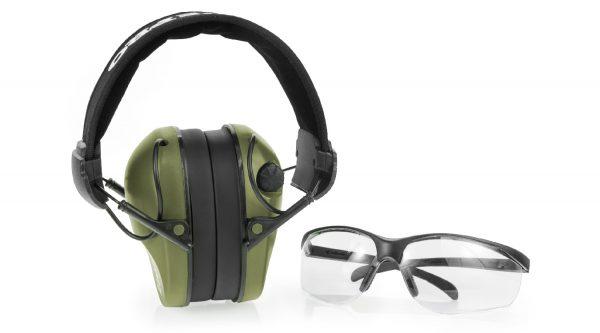 Real Hunter olive aktivní+brýle