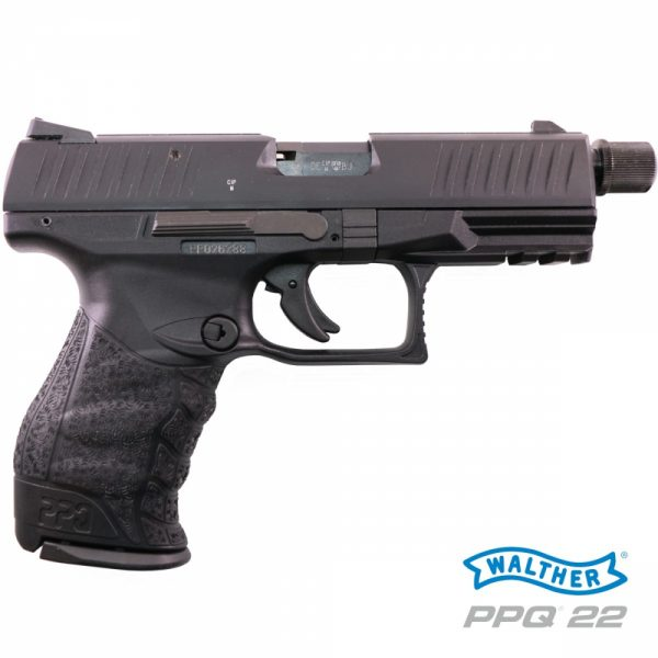 Walther PPQ M2 TACTICAL 4,6″ 22LR