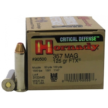 HORNADY CRITICAL DEFENSE 357
