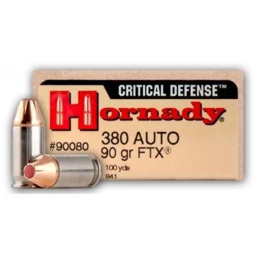 HORNADY CRITICAL DEFENSE .380AUTO