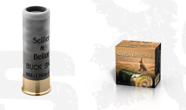 SB 12/70 BUCK SHOT 25 ks  32gr