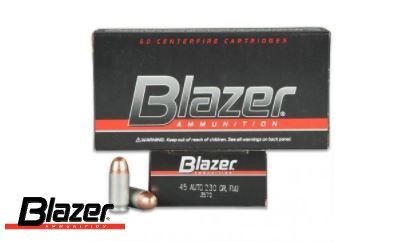 Blazer 45ACP aluminium náboj