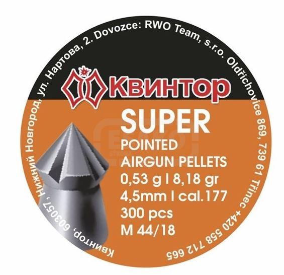 Diabolo Kvintor Super Pointed  4,5mm