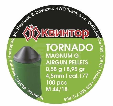 Diabolo Kvintor Tornado Magnum  4,5mm