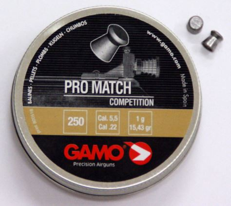 Gamo PRO-MATCH diabolky 5,5mm balení 250 ks
