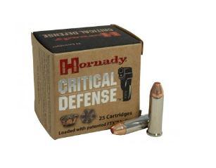 Hornady 38SPec +P critical defence