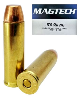 MAGTECH 500 SMITH WESSON FMJ FLAT POINT