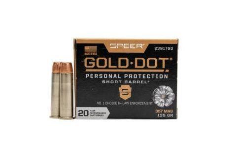 SPEER .357MAG GOLD DOT 135gr GDHP